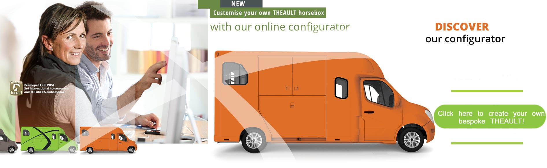 Renteo Horsebox Configurator
