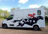 new thealut horsebox for sale