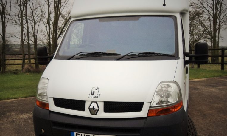 Used Theault 3 seater horsebox